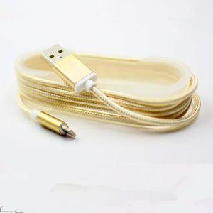 Câble - connectique GPS 1.5M Aluminium Nylon Câble de chargeur pour iphone