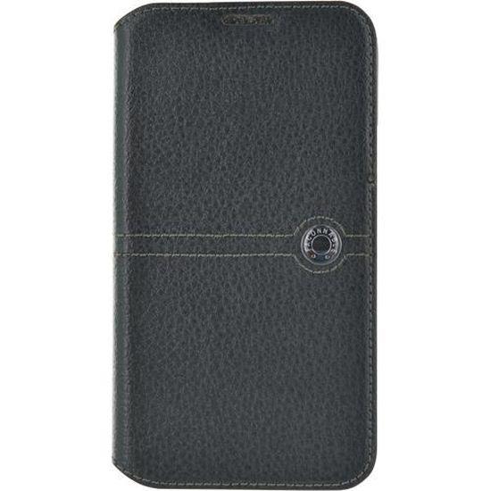 FACONNABLE Etui folio pour Samsung Galaxy S5 - Noir - Achat housse - étui  pas cher, avis et meilleur prix - Cdiscount 5e68e6d2f985
