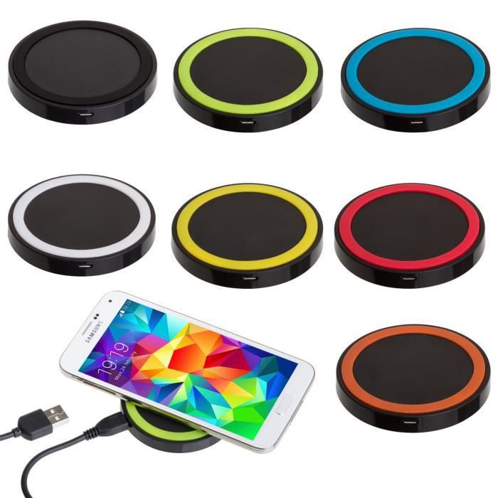 chargeur iphone induction achat vente chargeur iphone induction pas cher cdiscount. Black Bedroom Furniture Sets. Home Design Ideas