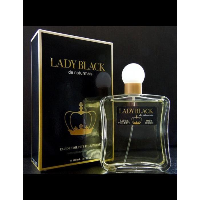 Naturmais Achat Eau Vente 100 Ml Black De Toilette Lady XZOiukTwP