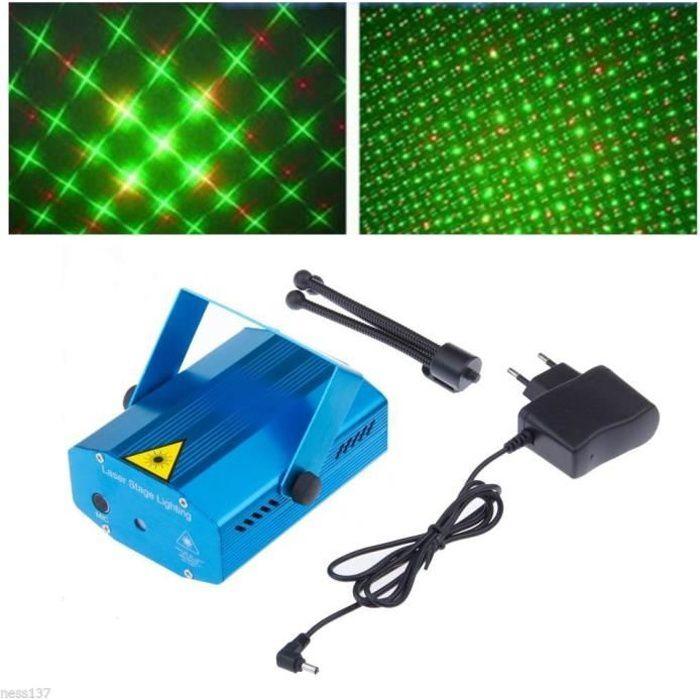 Mini laser eclairage dj 150mw jeu de lumiere soir eclairage laser avis et prix pas cher for Laser eclairage facade