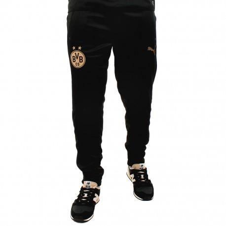Pantalon PUMA Noir Noir - Achat   Vente survêtement - Cdiscount e40aedf88a2