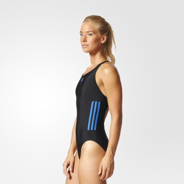 ece4a4e572 Essence Stripes Maillot Pas Adidas Prix De Femme Core Bain 3 Cher L35R4jqA