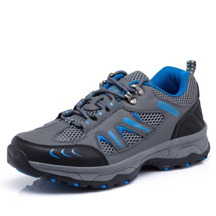 Basket outdoor Chaussures de trempage à mailles respirantes chaussures hors route résistantes à l'usure ZohPM