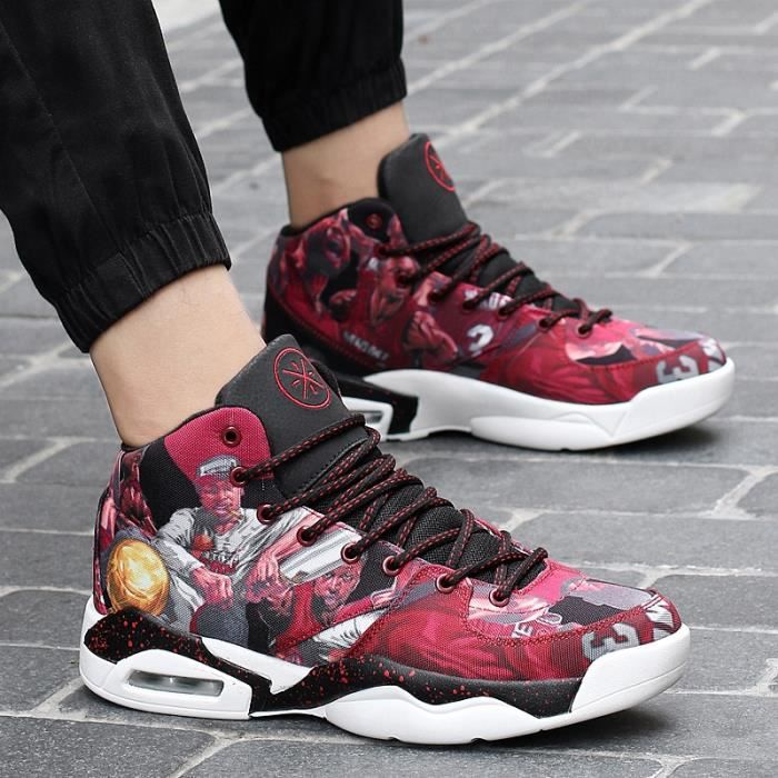 Femmes Chaussures Hommes Sneakers Comfortable Rouge Et 4Ax5fqw