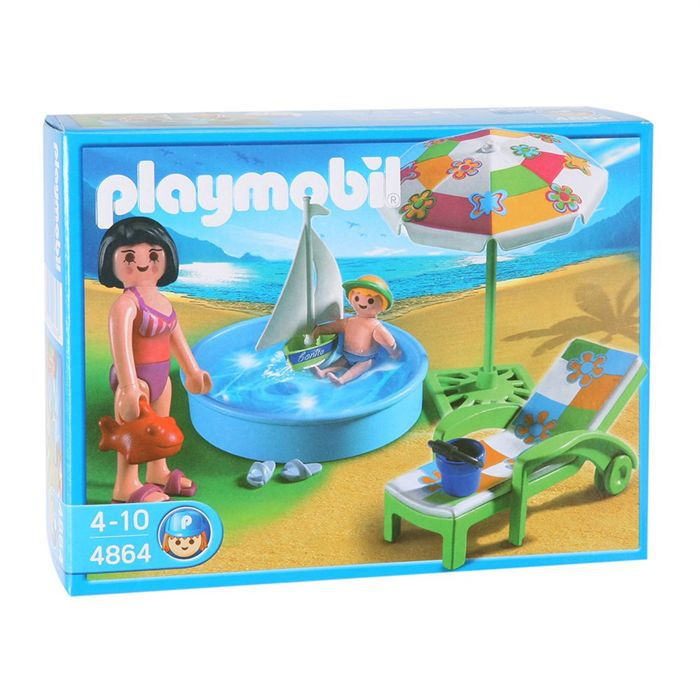 Playmobil Pataugeoire  Achat  Vente Univers Miniature  Cdiscount