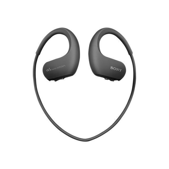 LECTEUR MP3 SONY NW-WS414 Lecteur MP3 - Casque sport 8 Go Noir