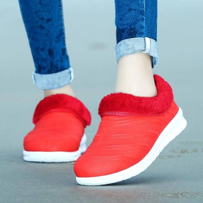 Mode Printemps Mocassins beauté Chaussures de pluie femmes
