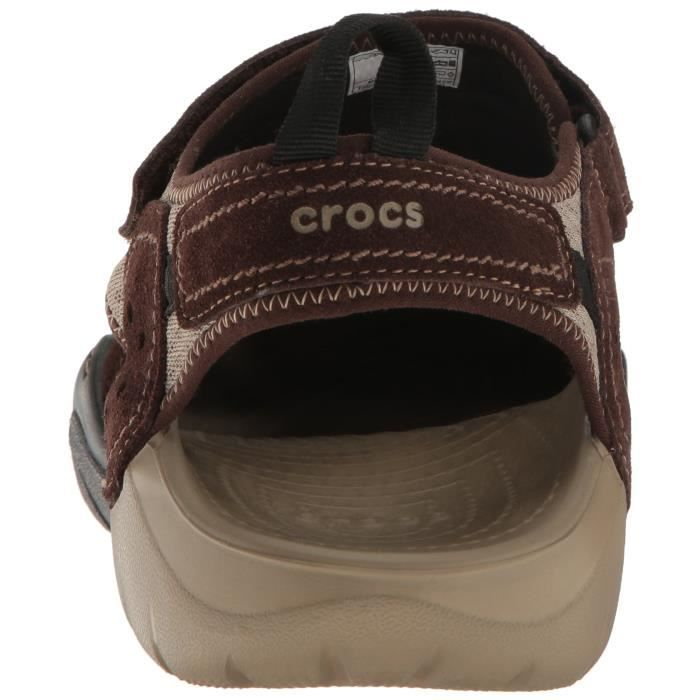 Crocs Swiftwater Suede M Fisherman Sandal GSOOE Taille-46