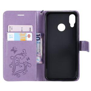 Cell Phones & Accessories Asus Zenfone 3 Cas De Téléphone Etui Fr Violet 2215p