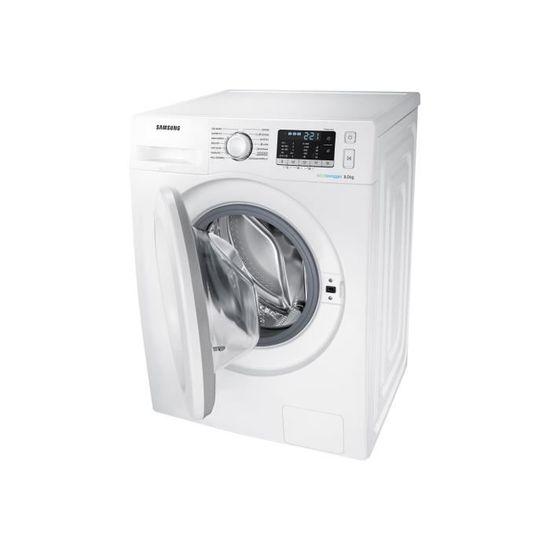 Samsung Ecolavaggio WW80J5555MW Machine à laver indépendant largeur   60 cm  profondeur   63 cm hauteur   85 cm chargement… - Achat   Vente lave-linge -  ... d8163cb89200