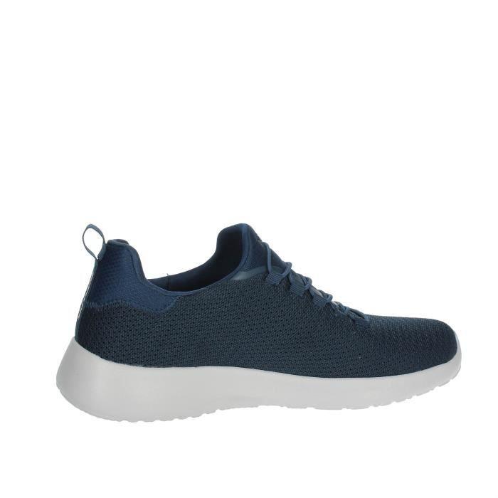 Skechers Slip-on Chaussures Homme Bleu, 41