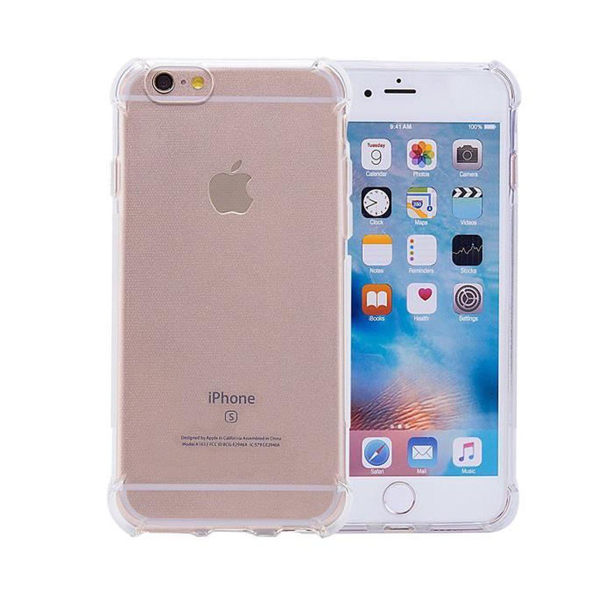 coque antichoc iphone 6 silicone