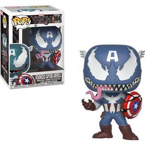 FIGURINE - PERSONNAGE Figurine Funko Pop! Marvel Venom: Venom/Captain Am