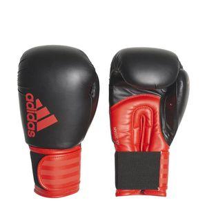 half off bc76a c29a7 Gants adidas de boxe Hybrid 100 - noir rouge intense - 10oz