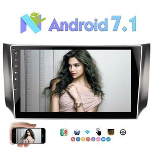 AUTORADIO Android 7.1 Nougat Car Stereo Double Din 10.1