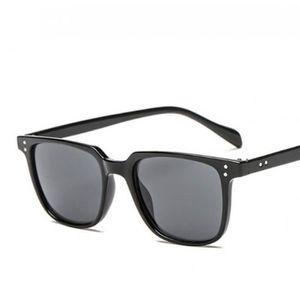 LUNETTES DE SOLEIL lunette homme carré noir