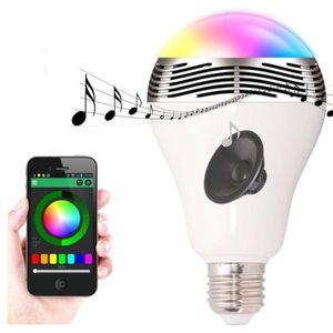 Haut Rgbw Parleur Commande Lampe Bluetooth Mini À Et Led MqpLGSzVUj