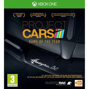 JEU XBOX ONE PROJECT CARS GAME OF THE YEAR EDIT XONE UK
