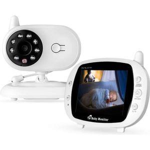 ÉCOUTE BÉBÉ BabyPhone vidéo Sans fil Multifonctions 3.5 pouces