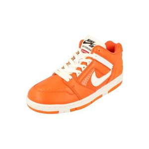 wholesale dealer 67f44 c9dc8 Nike Sb Af2 Low Supreme Hommes Trainers Aa0871 Sneakers Chaussures 212  Marron Marron - Achat