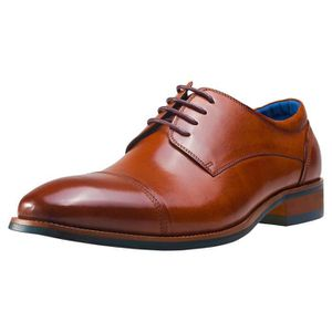 DERBY NW1 London Buffalo Derby Hommes Chaussures bronzer