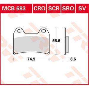 BATTERIE VÉHICULE TRW Lucas Racing couvrant MCB683SRQ - -0