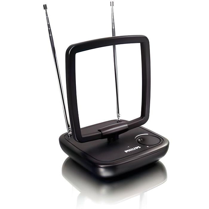 PHILIPS SDV5120 Antenne avec amplification 36 dB Noire