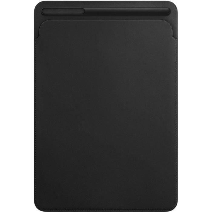 HOUSSE TABLETTE TACTILE Étui en cuir pour iPadPro 10,5pouces- Noir