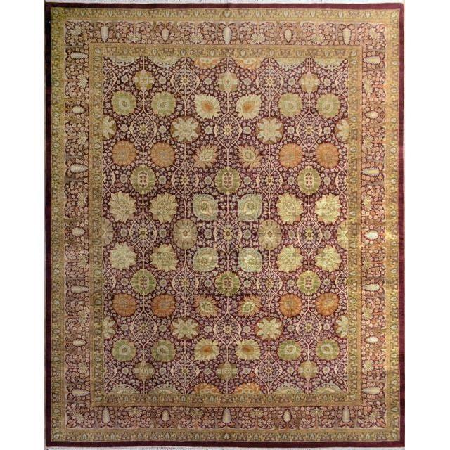 307x246 tapis en laine d orient fait main achat vente tapis cdiscount. Black Bedroom Furniture Sets. Home Design Ideas