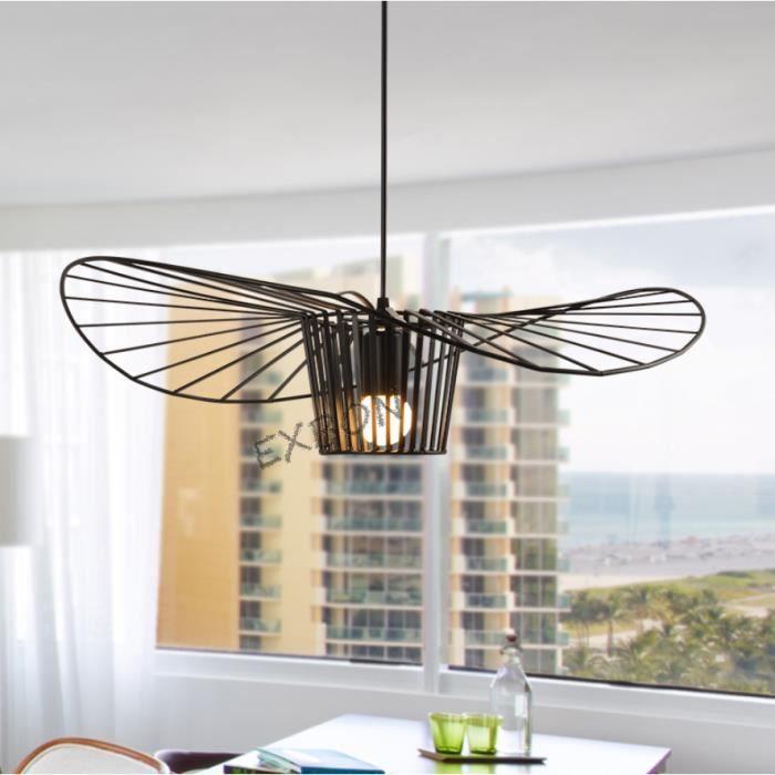EXBON Lustre Suspension E27 40cm Luminaire Créatif Pour Chambre Salon Salle  à Manger
