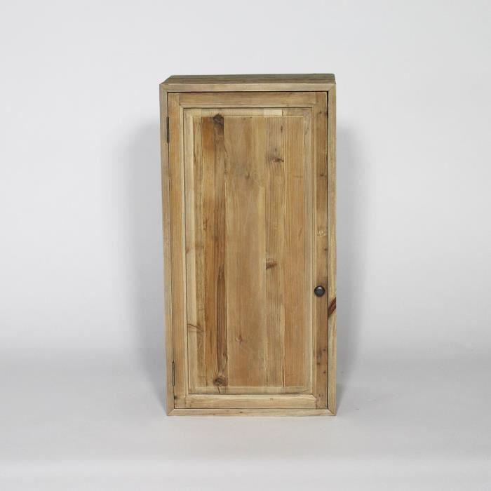 meuble tagre etagre haute pour cuisine en bois recycl authent