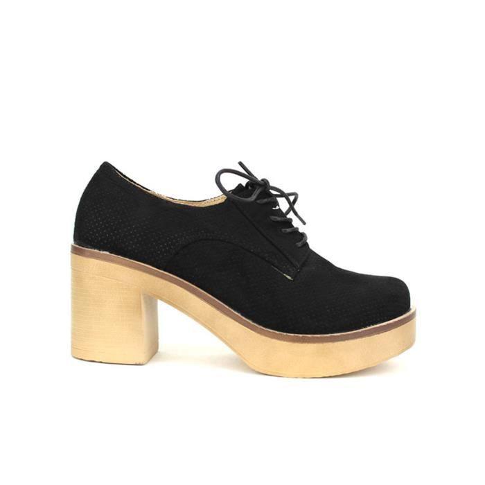 ballerine, Ballerines Noir Chaussures Femme, Cendriyon