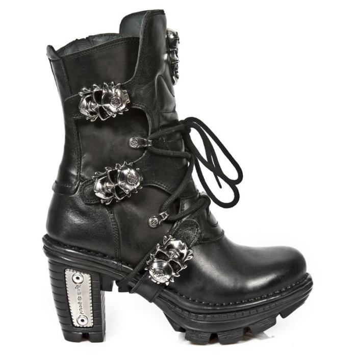 Bottes cuir New Rock M.NEOTR026-S1
