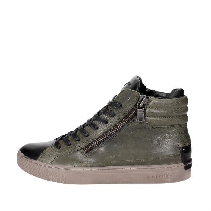 Crime LondonSneakers Homme Vert foncé, 44