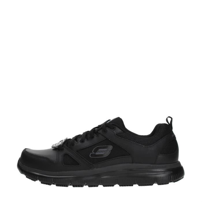 SKECHERS Sneakers Homme BLACK, 47.5