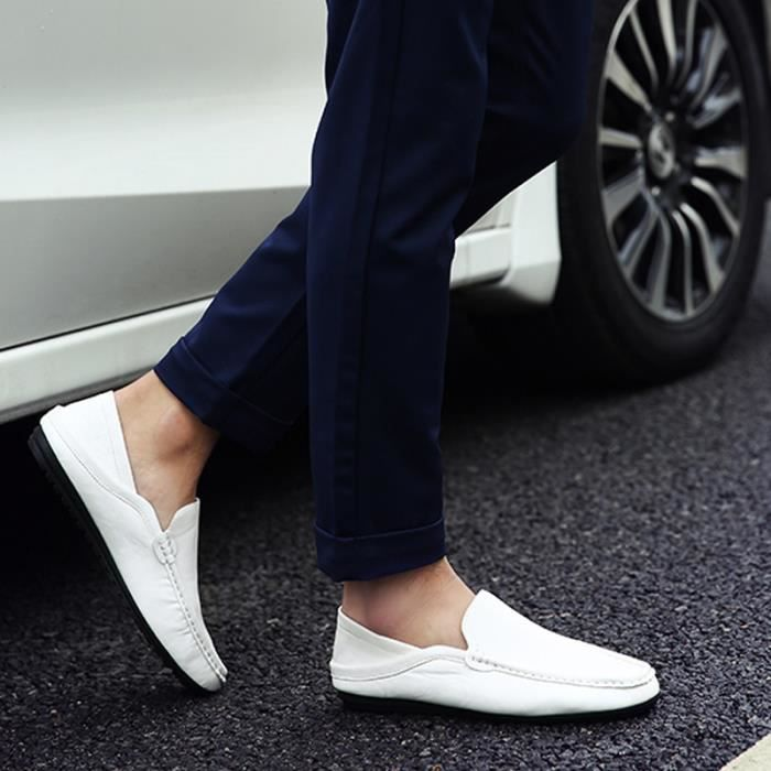 JOZSI Chaussures Homme Cuir Confortable mode Homme chaussure de ville FXG-XZ210Noir36 AJpV3vo