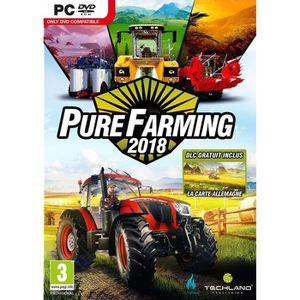 JEU PC Pure Farming 2018 Day 1 Edition Jeu PC