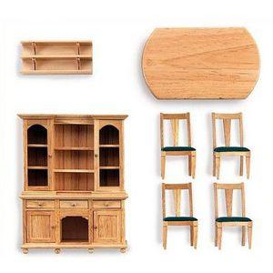 MAISON POUPÉE Accessoires maison  poupées - Salon en pin