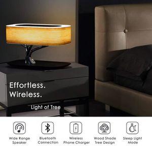 LAMPE A POSER Lampe de table LED sans fil avec enceinte Bluetoot
