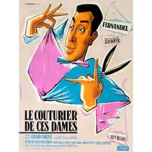 AFFICHE - POSTER COUTURIER DE CES DAMES (LE) reproduction affiche d