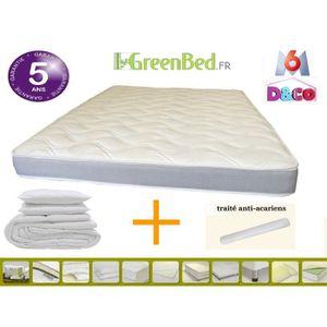 ad5b97c20482 ENSEMBLE LITERIE pack matelas confort plus 80x190 + pack couette 14. pack  Matelas confort + 80x190 cm + pack couette 140x200 + 1 oreiller ...