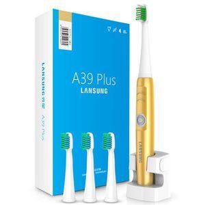 BROSSE A DENTS ÉLEC Or nouveau imputable électrique brosse à dents san