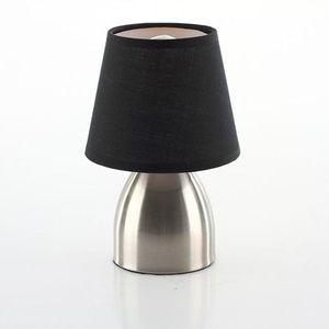 LAMPE A POSER Lampe de chevet touch  abat jour noir