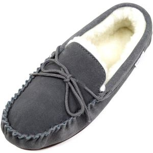 Men's Microterry Hoodback Slippers V8CK3 Taille-L xvQUVS0c
