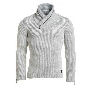 Pull laine homme col montant - Achat   Vente pas cher d6f4c4966b74
