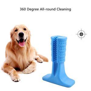 OUTILLAGE DE CAMPING Brosse à dents en caoutchouc pour chien Jouet pour