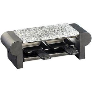 APPAREIL À RACLETTE Mini-raclette ''Duo'' avec gril et pierre à cuisso