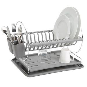 egouttoir vaisselle plastique achat vente egouttoir vaisselle plastique pas cher cdiscount. Black Bedroom Furniture Sets. Home Design Ideas