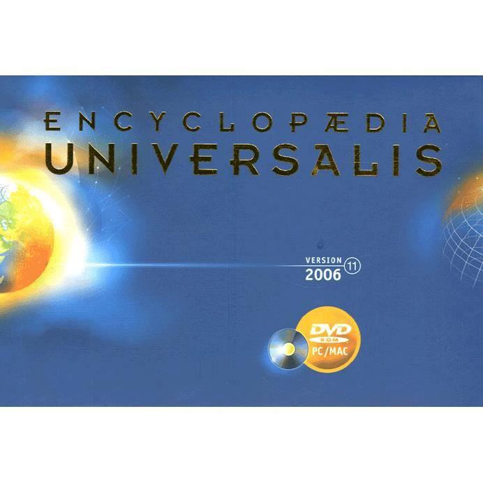 encyclopedie universalis dvd rom